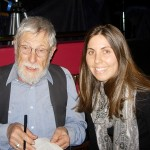 Kristi Moos and Gary Snyder